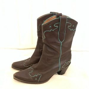Sam Edelman Limited Edition Cowgirl Boots